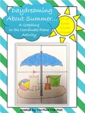 Daydreaming About Summer [Coordinate Plane Graphing Activity]