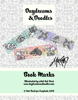 Book Marks: Daydreams And Doodles