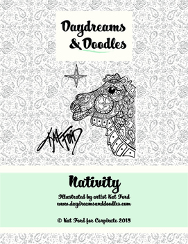 Nativity Coloring Pages: Daydreams And Doodles