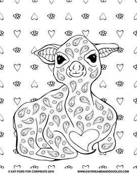 Passover Coloring Pages: Daydreams And Doodles by Kat Ford | TpT