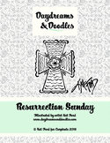 Resurrection Sunday Coloring Pages: Daydreams And Doodles