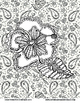 Summer Coloring Pages: Daydreams And Doodles