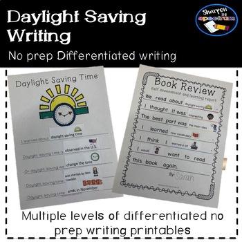 Daylight Saving Differentiated Writing