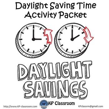 Daylight Saving Time No Prep Activity Packet Printable Worksheets