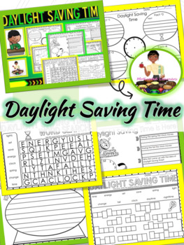 Daylight Saving Time No Prep Activities