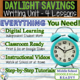 Daylight Savings Writing BUNDLE! - Argumentative Persuasiv