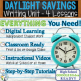 Daylight Savings Writing BUNDLE! - Argument, Persuasive, E