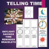 Telling Time Daylight Savings Time Bracelet (Beginning or Ending)