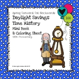 Daylight Savings Time Mini Book