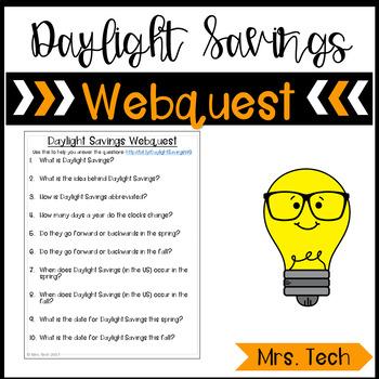 Daylight Savings Webquest