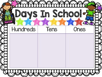 Days In School Hundreds Chart