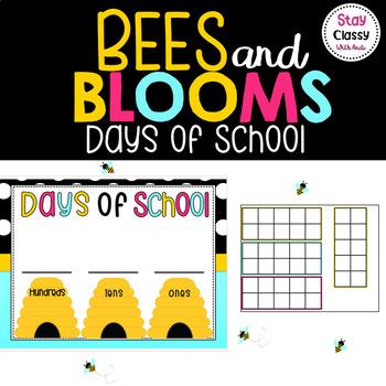 Days In School Tens Frame Display