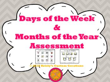 Days & Months Assessment