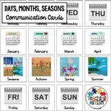 Autism Communication Visuals Days Months and Seasons