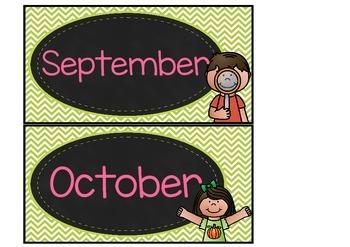 Days, Months and Seasons - Australian version