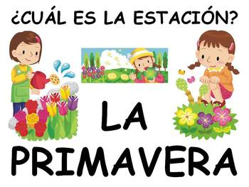Days, Months and Seasons Power Point in Spanish (40 slides)