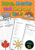 Days, Months and Seasons Tests
