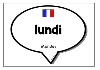 Days & Months in French