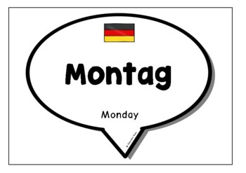 Days & Months in German