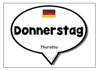 Days & Months in German