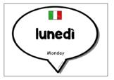 Days & Months in Italian
