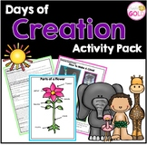 Days Of Creation- Activity Pack
