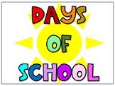 Days Of School Ten Frames