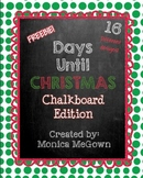 Days Until Christmas: Chalkboard Edition (Christmas Countdown!)