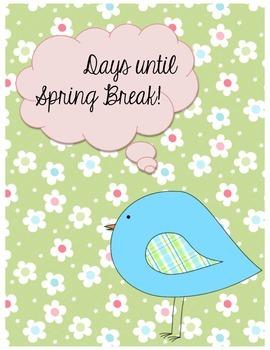 Days Until Spring Break
