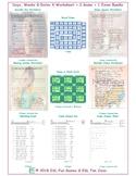 Days, Weeks & Dates 4 Worksheet-2 Game-1 Exam Bundle
