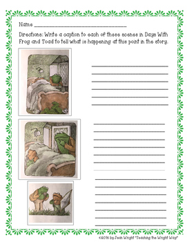 Days With Frog and Toad Book Study