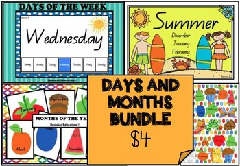 Days and Months *BUNDLE*
