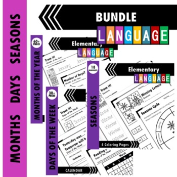 Days and Months Bundle: Free Bonus!