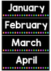 Days and Months Flashcards