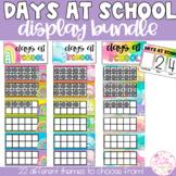 Days at School Tens Frame Display