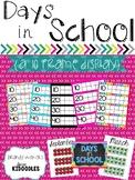 Days in School {A Ten Frame Display}