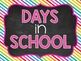 Days in School A Ten Frame Display