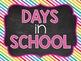 Days in School A Ten Frame Display