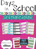Days in School {A Ten Frame Display}
