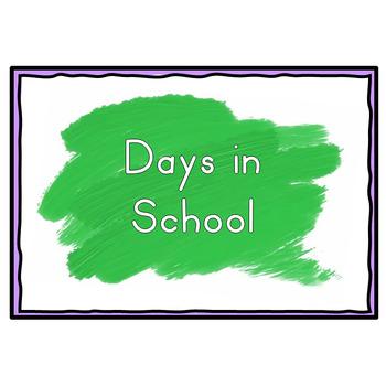 Days in School Calendar