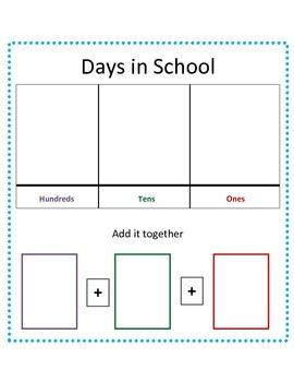 Days in School Flip Chart