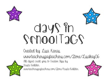 Days in School Tags