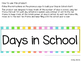 Days in School Ten Frame Chart - Stripes