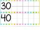 Days in School Ten Frame Chart - Stripes