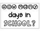 Count the Days in School Ten Frames