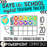 Days in School Ten Frames (DIGITAL for Google Slides™ & Powerpoint)