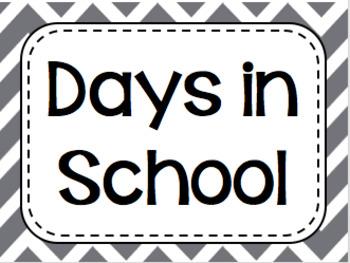 Days in School - a Ten Frame activity