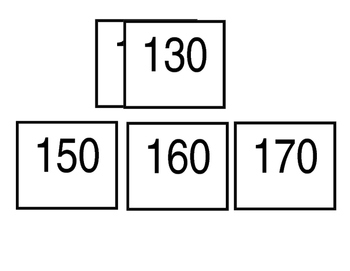 Days in school 10 frame with numbers