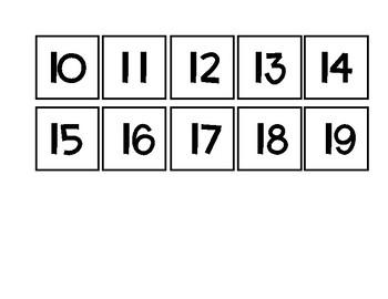 Days in school number line