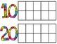Days in school rainbow tens frames